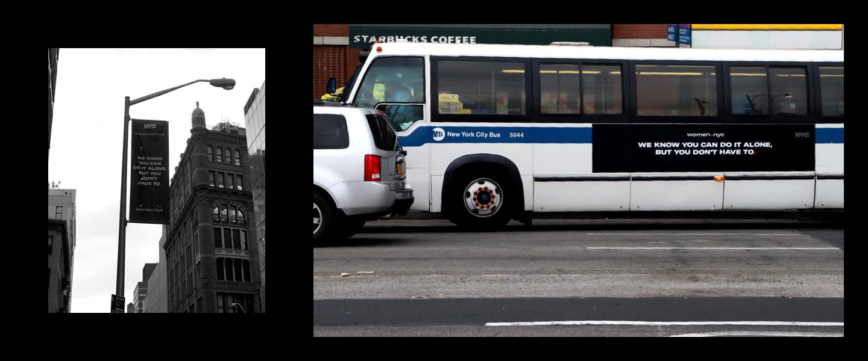 Women NYC Bus 1