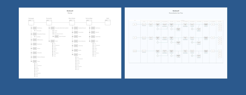 Bodewell Web sitemap user flow